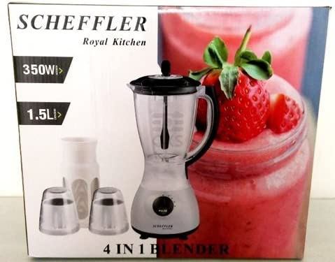 Scheffler Royal Kitchen Blender Licuadora 4 en 1 con 1,5 litros y ...