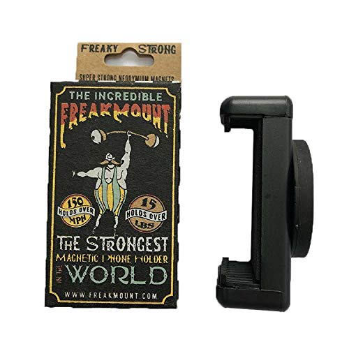 FREAKMOUNT - Freaky Strong Magnetic Phone Mount - Designed for Motorcycles - Use Anywhere