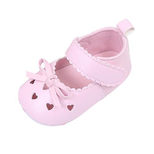 outlet store 113aa 0a9e1 FNKDOR Babyschuhe Mädchen Neugeborene Weiche Rutschsicheren Baby Schuhe