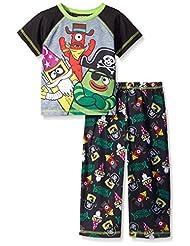 "Yo Gabba Gabba Little Boys' Toddler ""Funny Hat Party"" 2-Piece Pajamas"