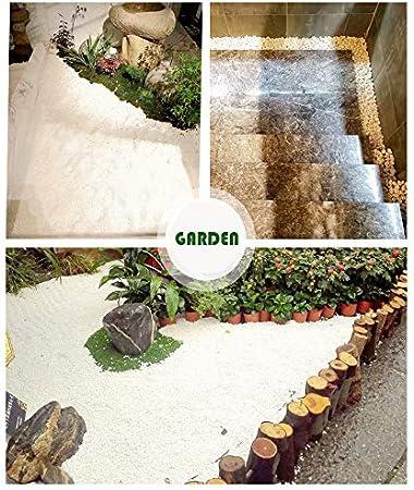 peque/ñas Piedras Decorativas de Roca de r/ío 32 oz Piedras Naturales pulidas de Colores Mezclados Ruiuzi Pebbles 2 Libras Gravilla Pulida