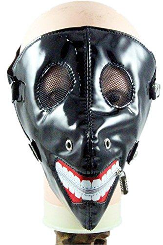 Wei zhe Men and women fashion personality tooth ghoul punk rock show bang nail mask by Wei zhe