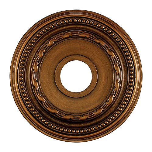 Elk M1001AB Campione Ceiling Medallion, 16-Inch, Antique Bronze Finish ()