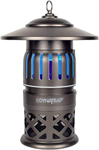 DynaTrap DT1050-TUN Insect and Mosquito Trap Twist On/Off, 1/2 Acre, Decora Series, Tungsten