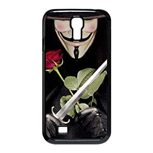 YYCASE Customized Colorful V for Vendetta Pattern Protective Case Cover Skin for Samsung Galaxy S4 I9500 Phone Case