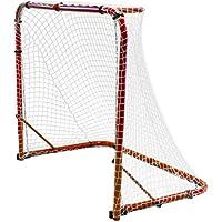 Park & Sun sports - Portería de Hockey con Marco de Acero Plegable y Red elástica de Nailon