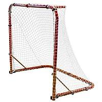 "Park & Sun sports ""Street Ice - Portería de Hockey con Marco de Acero Plegable y Red de Nailon Antideslizante"