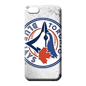 diy zhengiphone 5/5s Proof Back High Grade cell phone shells toronto blue jays mlb baseball