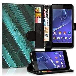 Wallet Wicostar–Funda Case Funda Carcasa diseño Funda para Samsung Galaxy J5–Diseño Flip mvd37