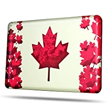 TNP MacBook Pro 13 Retina Case [Maple Leaf Pattern] - Soft-Touch Plastic Matte Hard Shell Protective Case Cover Skin for Apple MacBook Pro 13 Inch A1425 A1502 with Retina Display