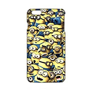 Angl 3D Case Cover Cartoon Cute Minion Phone Case for iphone 6 4.7
