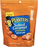 Planters, Salted Caramel Covered Peanuts, 16oz Bag (Pack of 2)
