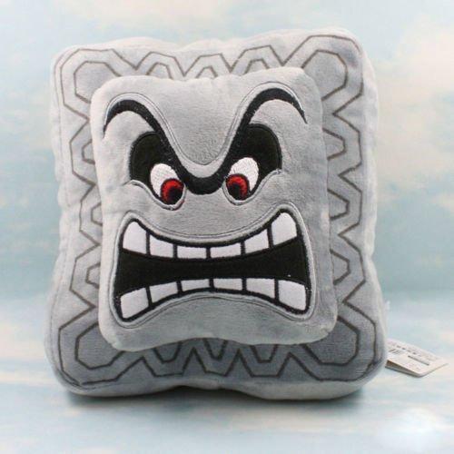- Super Mario Bros Plush Soft Toys Cushion Pillow Thwomp Dossun 9
