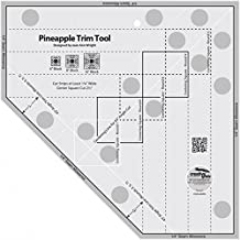 Creative Grids Pineapple Trim Tool Quilting Ruler by Creative Grids