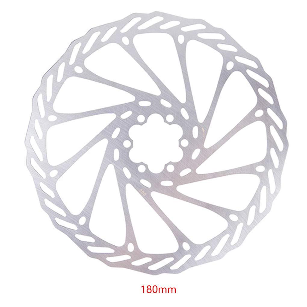 Topke Monta/ña Bici del Camino del Freno de Disco de Bicicletas MTB Metal del Rotor del Freno de 120 mm Accesorios de Bicicletas