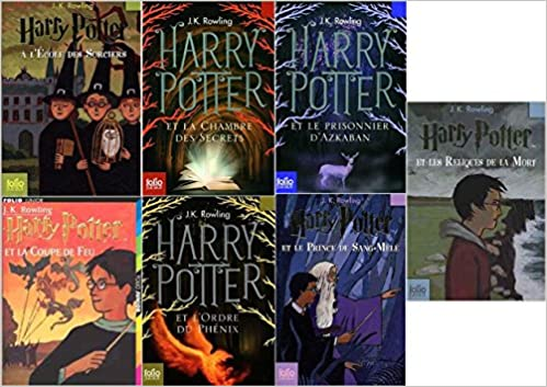 Amazon Fr Livres Harry Potter 1 2 3 4 5 6 7 Collection