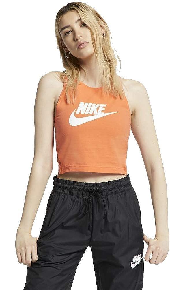 Nike Sportswear Heritage Camiseta Tirantes Tank Top Mujer Naranja