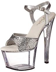 Pleaser Womens Sky310/SG/C Platform Sandal