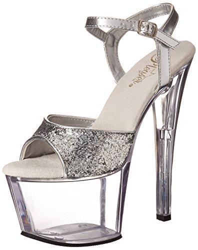 Pleaser Sky-310 - sexy scarpe sandali con i tacchi alti e plateau 35-45, US-Damen:EU-37 / US-7 / UK-4