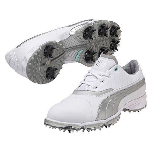 Puma BioPro Wmns - white-silver metallic, Größe Puma:7