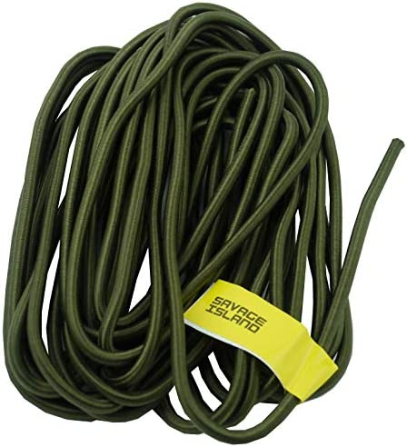 Savage Island Heavy Duty 10mm Bungee Cord Elastic Tie Down Straps Rope With 6 Hooks
