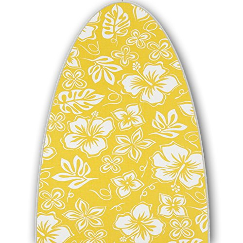 ClarUSA Premium Ironing Board Replacement Cover Fits Rowenta Model IB9100 Hibiscus Mimosa Print