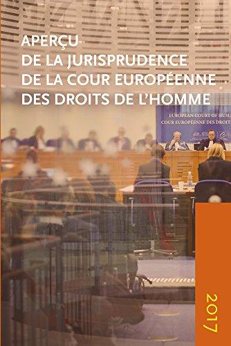 Apercu de la Jurisprudence de la Cour Europeenne des Droits de l'homme 2017
