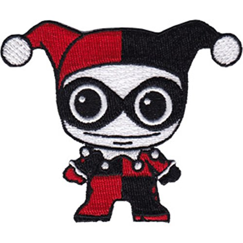 DC Comics (Batman) Harley Quinn Doll Embroidered Patch (Can Be Ironed Or Sewn On) (with Gift Box)