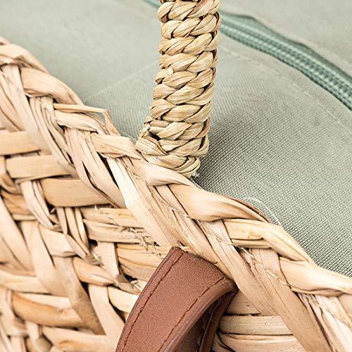 craft Mode Paille période Sac en vacances Leisure de de papier d'été à qualité main plage Sac de tissage de Sac Onemoret tHdqH