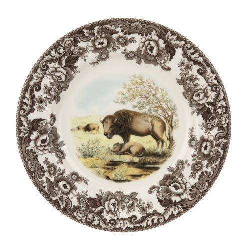 Spode Woodland & Delamere Dinner Plate (Bison)