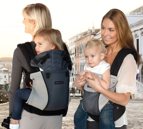 líllébaby COMPLETE Baby Carrier Airflow – Charcoal/Grey by líllébaby