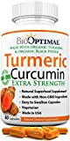 BioOptimal Organic Turmeric Capsules, 2 Month Supply, Turmeric Curcumin Supplement, Organic Turmeric with Black Pepper, Non-GMO, Extra Strength, Joint Pain Relief, 1 Daily, 60 Turmeric Pills Review