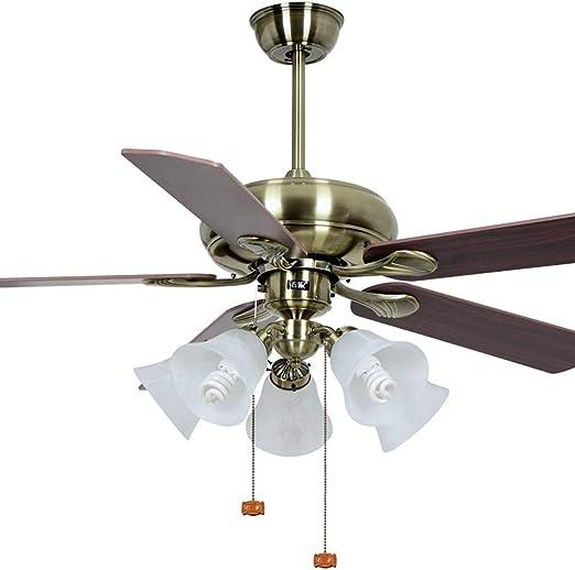 Luz del ventilador de techo luz de Ventilador de Ventilador con ...