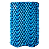 Klymit Double V Sleeping Pad, 2 Person, Double Wide (47 inches), Lightweight Comfort for Car Camping, Two Person Tents, Travel, and Backpacking