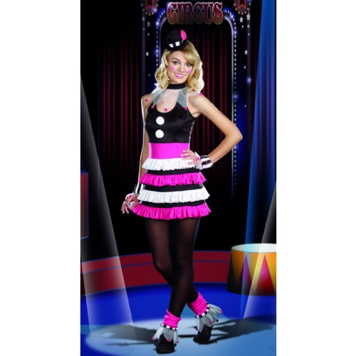 [Spirit Clownin' Around Teen Costume Junior Size Lg] (Holloween Spirits Costumes)