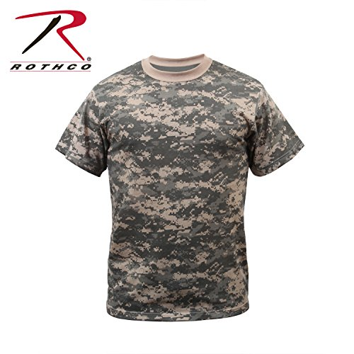 - Rothco Kids T-Shirt - ACU Digital Camo, Large