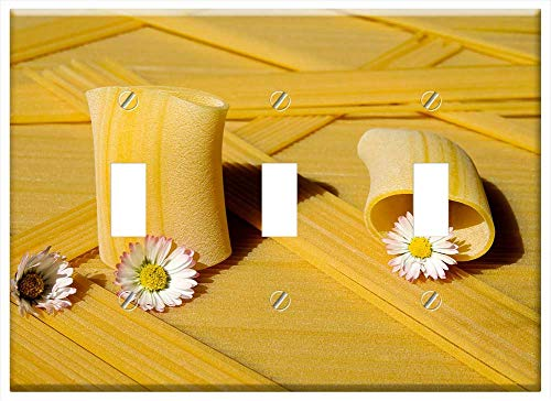 Switch Plate Triple Toggle - Noodles Raw Paccheri Giganti for sale  Delivered anywhere in USA