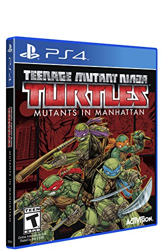 - Teenage Mutant Ninja Turtles: Mutants in Manhattan - PlayStation 4