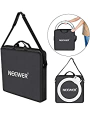 Neewer Photography Carrying Bag Protective Case Compatible with 18 inches Camera Ring Light - 20.47x20.47 inches/52x52 Centimeters, Durable Nylon, Light Weight (Black)