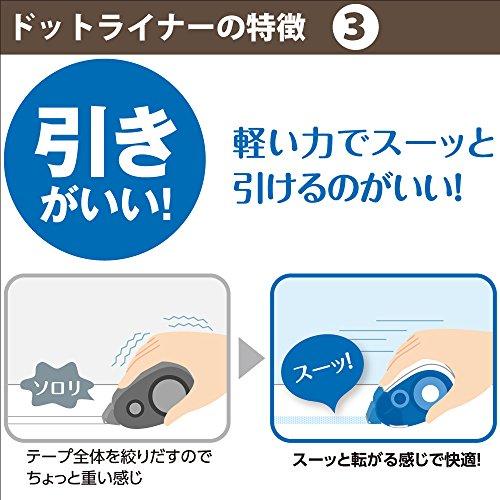 Kokuyo Tepe Glue Dot Liner -Refill Photo #6