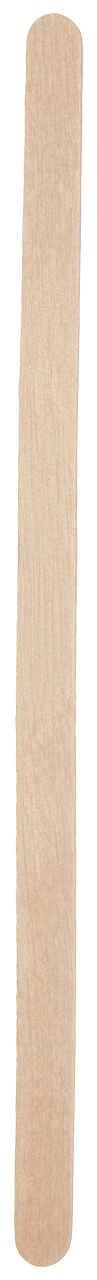 DUKAL Spa 900418 Wood Applicator Sticks, Non-Sterile, 1/4'' x 5 1/2'', Slim, Bendable (Pack of 2500)