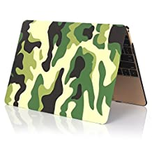Masino® Hard Case Cover for Macbook Pro 15-Inch A1286 without Retina Display (Camouflage Partten-Green, Macbook Pro 15-Inch A1286)