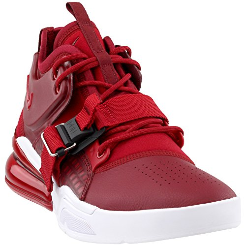 Nike Air Force 270 Mens Shoes Team Red Gym Red White ah6772-600