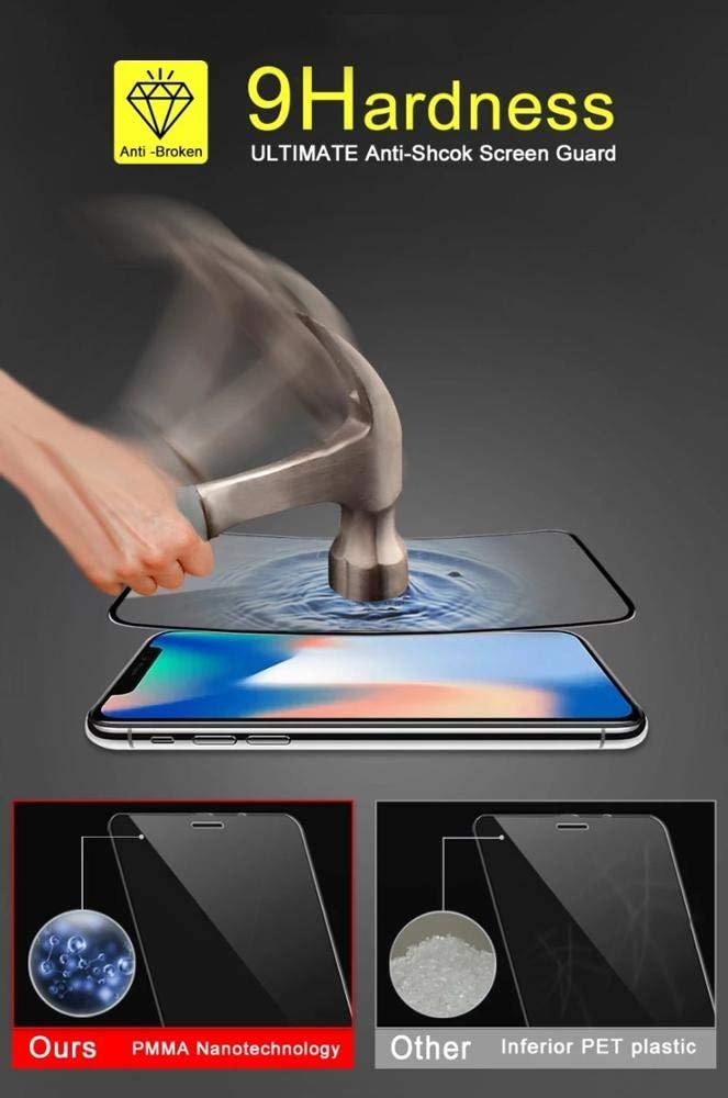 9H Full Protection Film with Free Mobile Holder Gift Hydro Gel 9D Flex Soft 2-Pack S9 S10,S10Plus Nano Membrane New Technology Strong CoverZoid Adhesive Screen Protector for Samsung S8