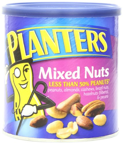 029000016705 - Planters Mixed Nuts, Regular, 15-Ounce (Pack of 3) carousel main 0