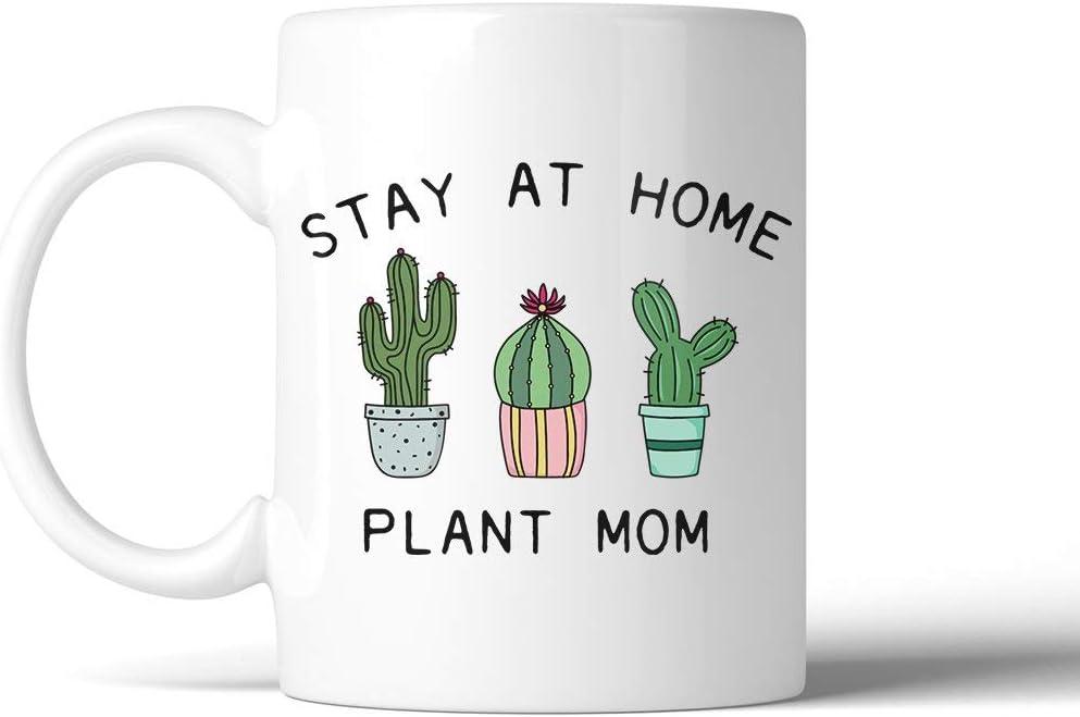11 oz Ceramic Coffee Mug Stay At Home Plant Mom 11 Oz Ceramic Coffee Mug Mother's Day Gift