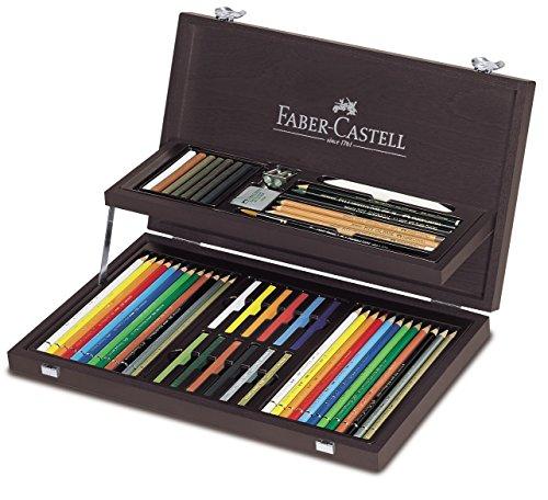 Pitt Monochrome Set (Faber Castell Art & Graphic Colouring Set)