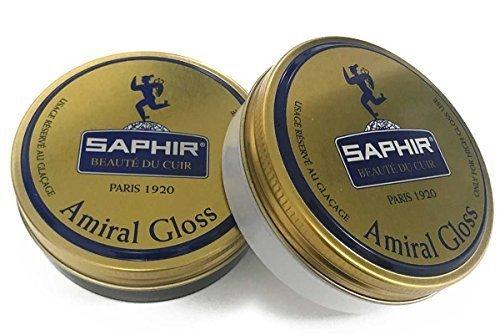 Saphir Admiral High Shine Wax (Black + Neutral Set)