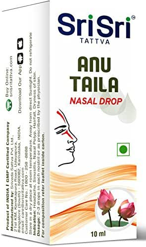 Sri Sri Tattva Anu Taila - 10 ml