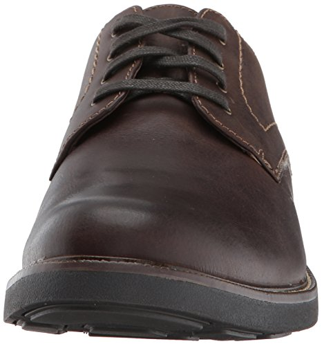 Brown Dress Mens Dockers Leather Oxford Parkway with Dark Casual Shoe NeverWet q1nSvBw6n